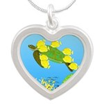 Green Sea Turtle and Tangs Necklaces