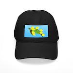 Green Sea Turtle and Tangs Baseball Hat