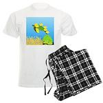 Green Sea Turtle and Tangs Pajamas