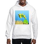 Green Sea Turtle and Tangs Hoodie