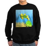 Green Sea Turtle and Tangs Sweatshirt