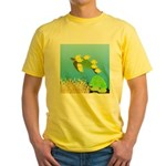 Green Sea Turtle and Tangs T-Shirt