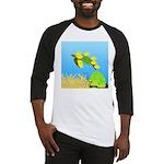 Green Sea Turtle and Tangs Baseball Jersey