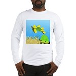 Green Sea Turtle and Tangs Long Sleeve T-Shirt