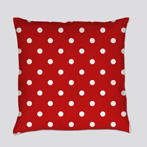 dots-white-red_ff Master Pillow