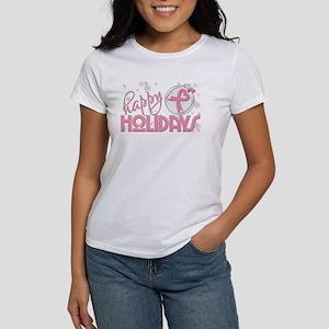 Happy Holidays (breast cancer) T-Shirt