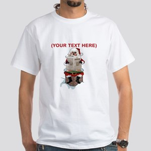 Santa Party Pooper Customizable Christmas T-Shirt