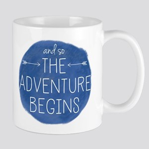 And So The Adventure Begins Mugs
