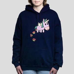 Unicorncakes3.png Women's Hooded Sweatshirt