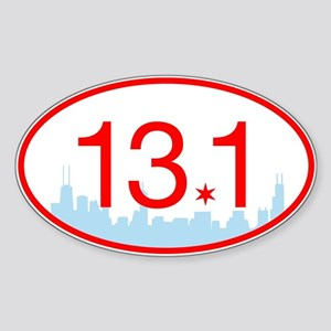 13.1 Chicago Skyline Sticker