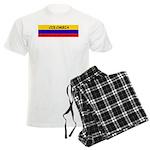 Colombia somewhere Men's Light Pajamas