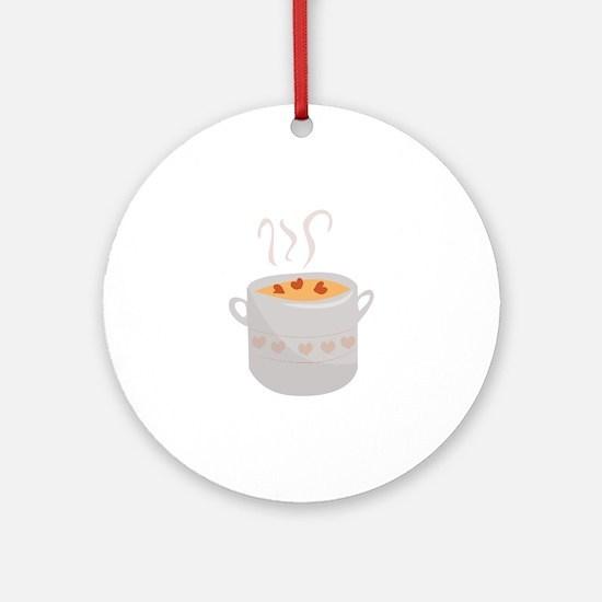 Soup Bowl Ornament (Round)