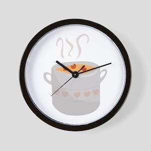 Soup Bowl Wall Clock