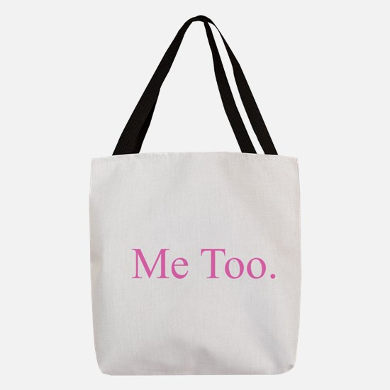 Me Too - Pink Polyester Tote Bag