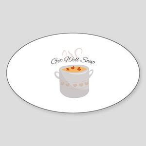 Get Well Soup Sticker