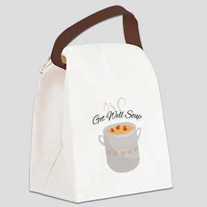 Get Well Soup Canvas Lunch Bag