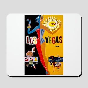 Las Vegas Vintage Mousepad