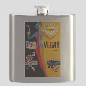 Las Vegas Vintage Flask