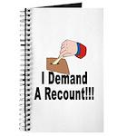 I Demand A Recount Journal