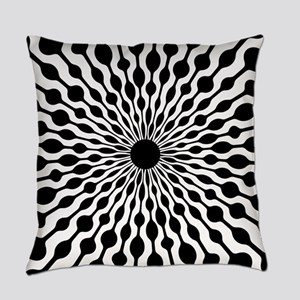 Retro Droplet Pattern Master Pillow