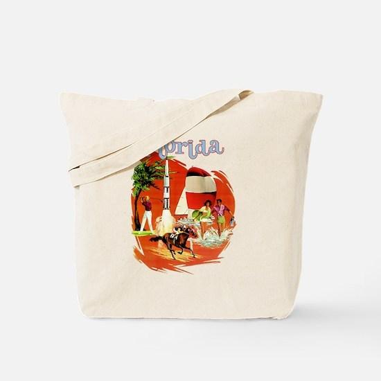 Florida Vintage Tote Bag