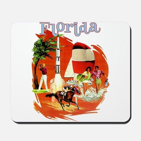 Florida Vintage Mousepad