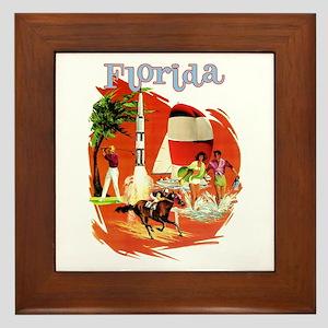 Florida Vintage Framed Tile