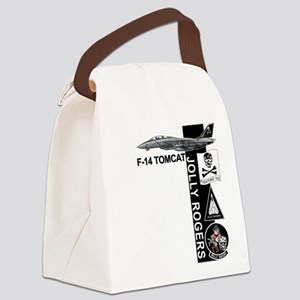 vf11logoC03 Canvas Lunch Bag