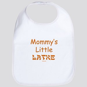 Mommy's Little Latke Chanukah Bib