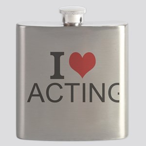 I Love Acting Flask
