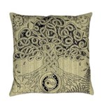 Circle Celtic Tree of Life Ink Master Pillow