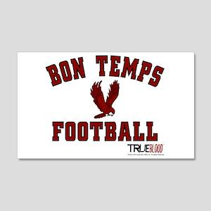Bon Temps Football 20x12 Wall Decal