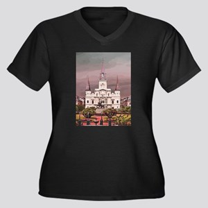 Cathedral Plus Size T-Shirt