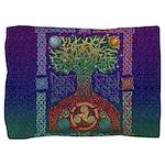 Celtic Tree of Life Pillow Sham