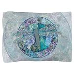 Cool Celtic Dragonfly Pillow Sham