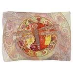 Warm Celtic Dragonfly Pillow Sham