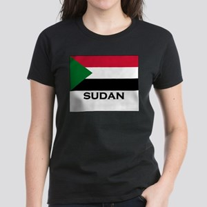 Flag of Sudan Ash Grey T-Shirt