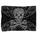 Celtic Skull and Crossbones Pillow Sham