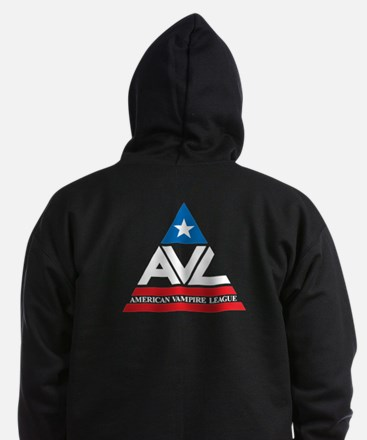 American Vampire League Zip Hoodie (dark)