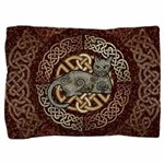 Celtic Cat Pillow Sham