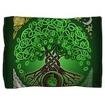 Circle Celtic Tree of Life Pillow Sham