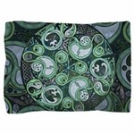 Celtic Stormy Sea Mandala Pillow Sham