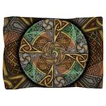 Celtic Aperture Mandala Pillow Sham