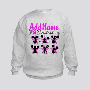 CHEERLEADER 4EVER Kids Sweatshirt