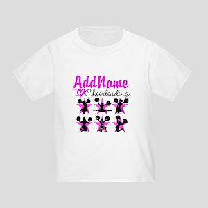 14c5806c10b Cheerleader Toddler T-Shirts - CafePress