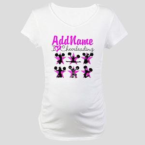 CHEERLEADER 4EVER Maternity T-Shirt