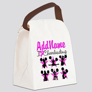 CHEERLEADER 4EVER Canvas Lunch Bag