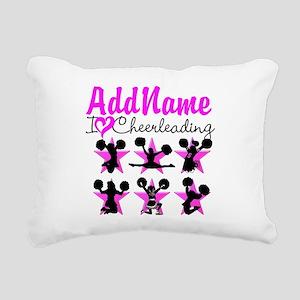 CHEERLEADER 4EVER Rectangular Canvas Pillow