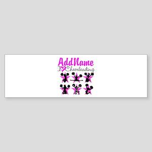 CHEERLEADER 4EVER Sticker (Bumper)