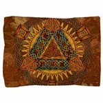 Celtic Pyramid Mandala Pillow Sham
